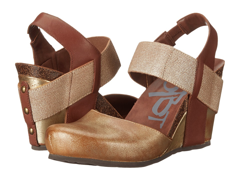 OTBT - Rexburg (New Gold) Women's Wedge Shoes