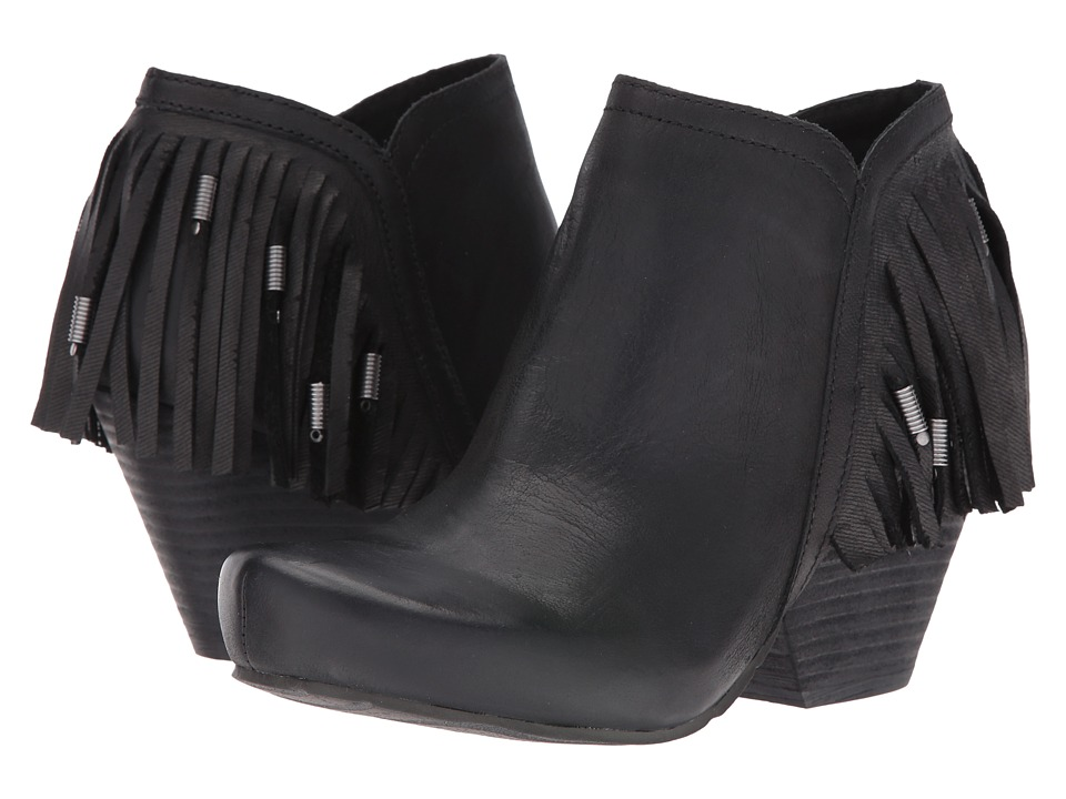 OTBT - Folkloric (Black) Women's Pull-on Boots