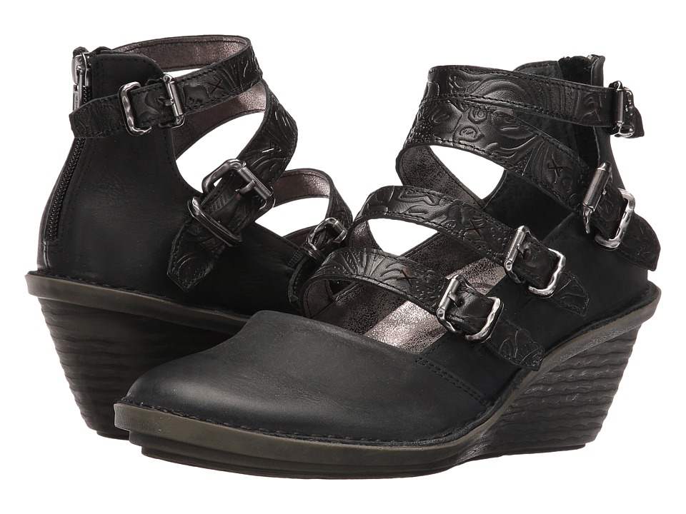 OTBT - Biker (Black) Women's Pull-on Boots