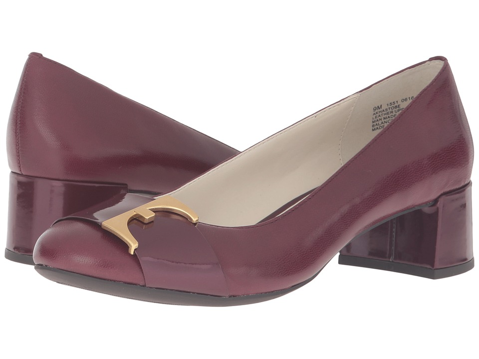 Anne Klein Hastobe (Wine Leather) Women