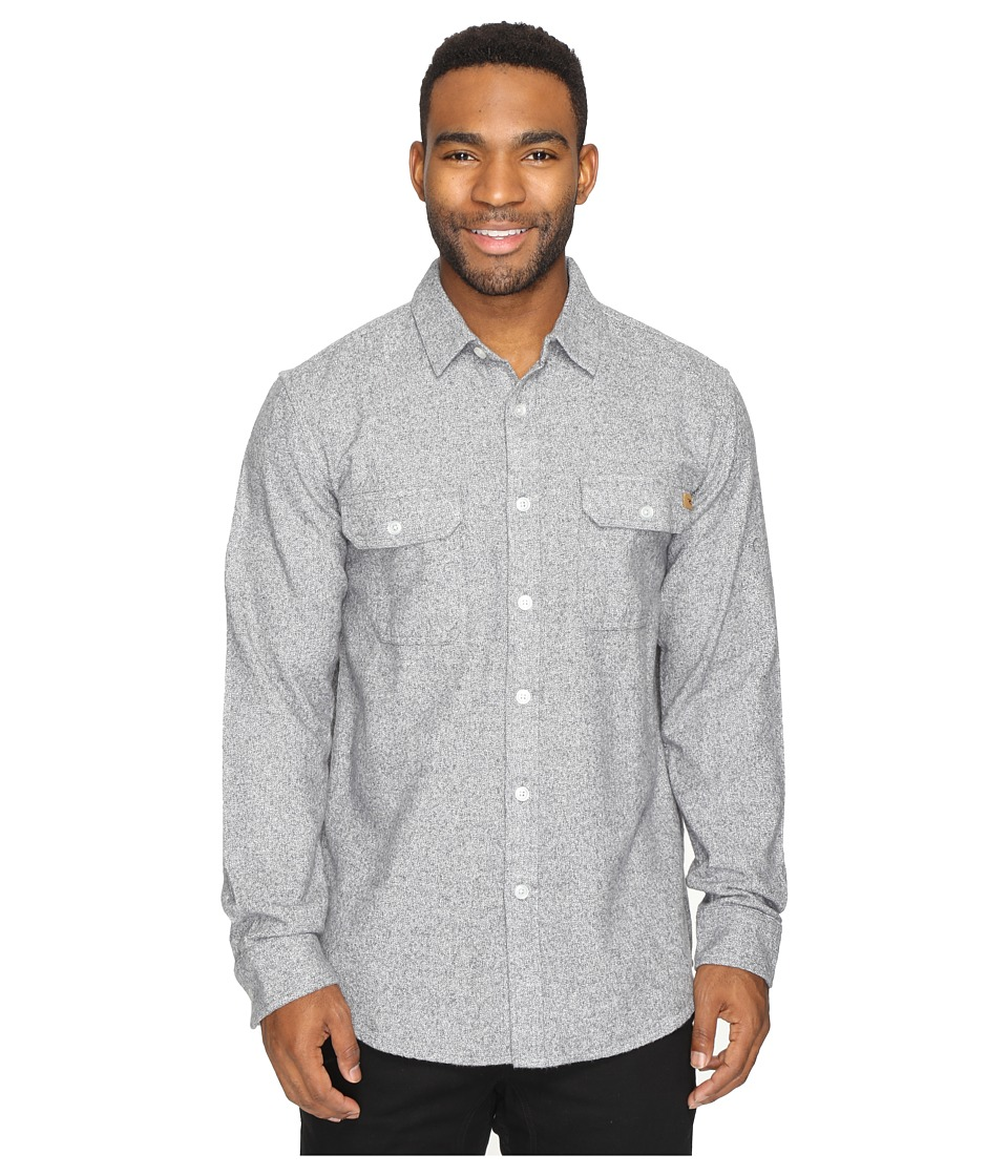 Rip Curl - Submerged Long Sleeve Shirt (Medium Grey) Men's Long Sleeve Pullover