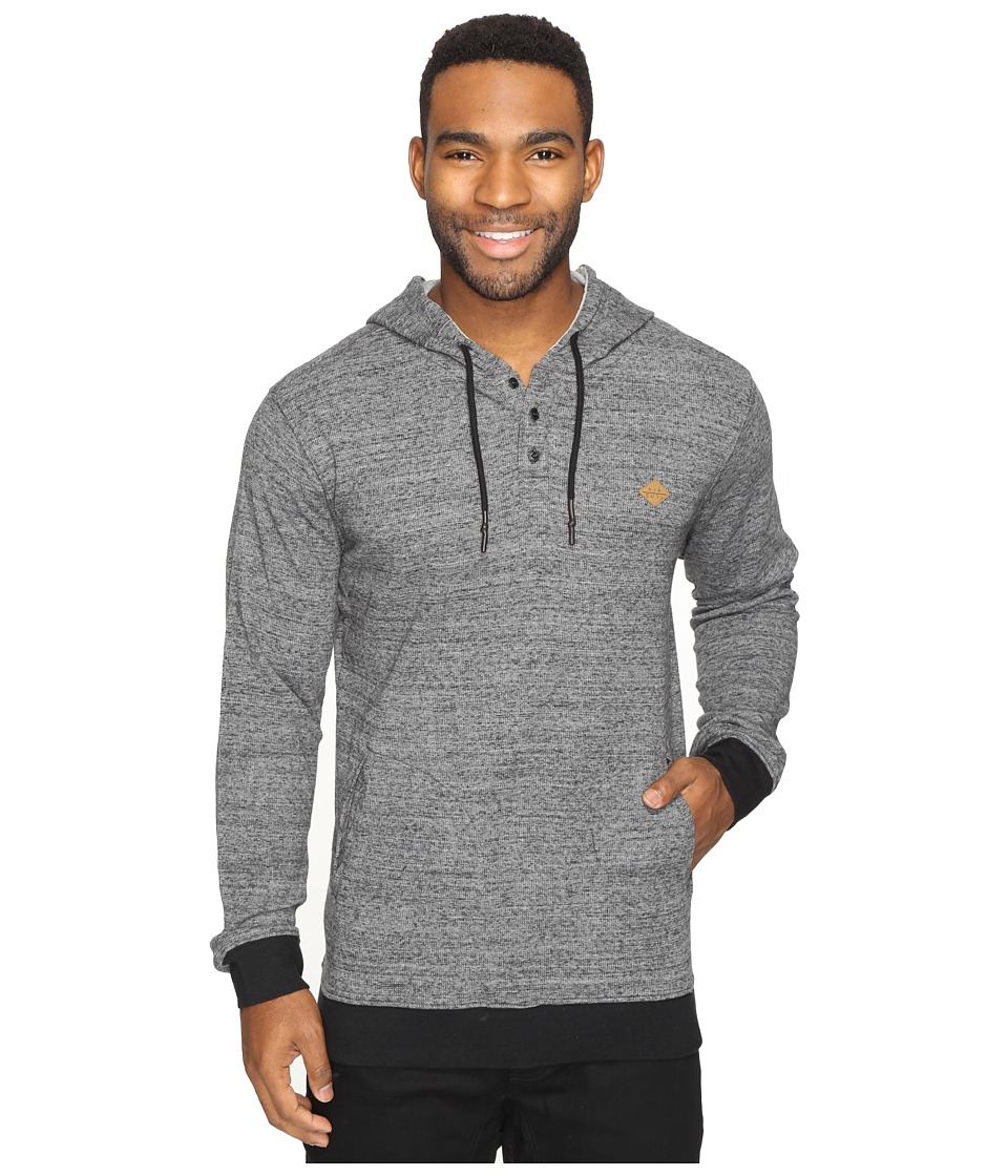 Rip Curl - Whaler Hooded Pullover (Charcoal) Men's Sweatshirt