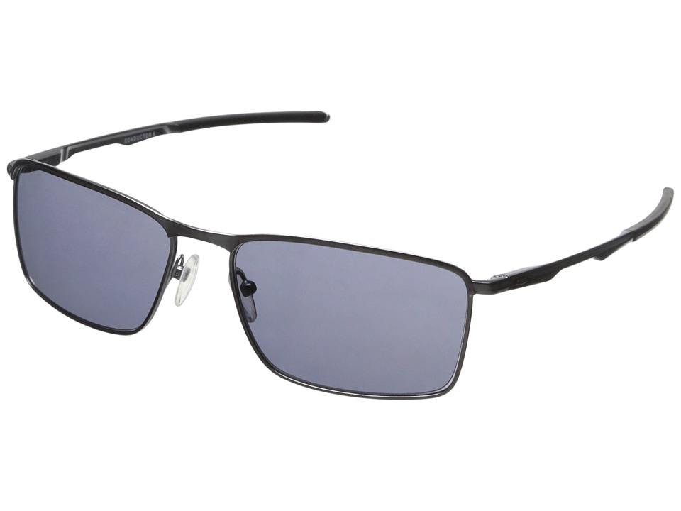 Oakley - Conductor 6 (Lead w/ Grey) Sport Sunglasses