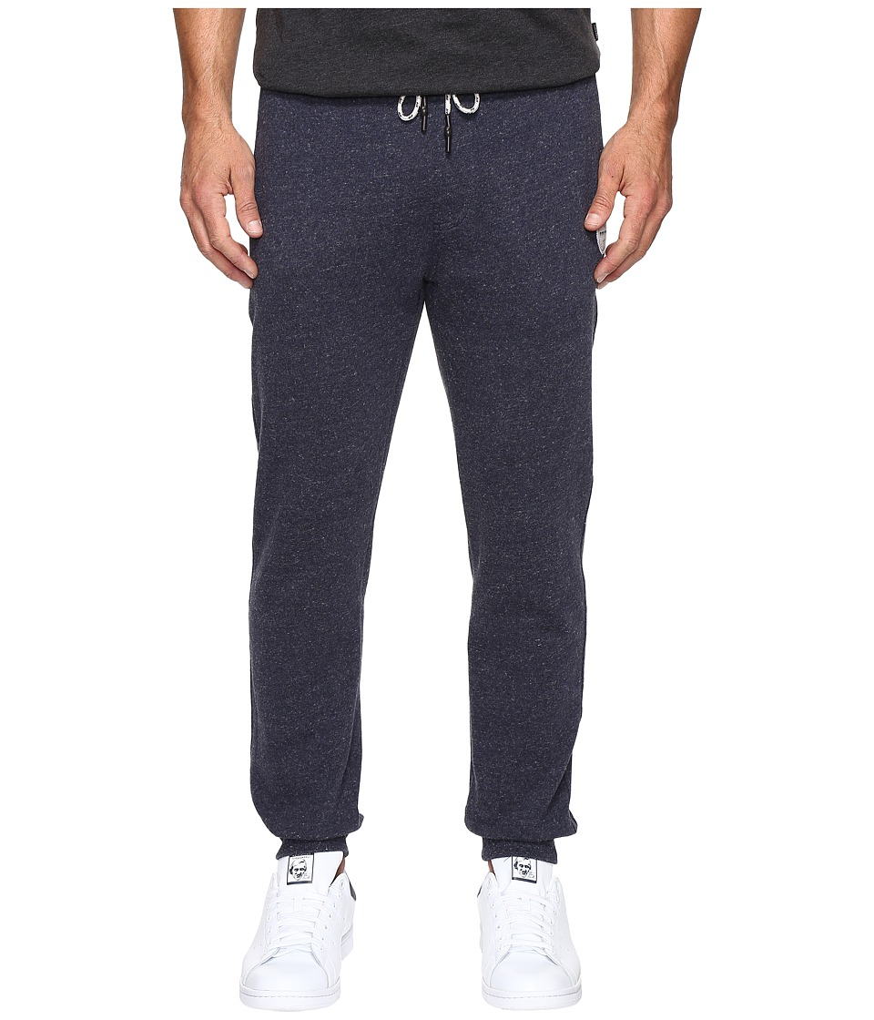 Rip Curl - Surf Check Fleece Pants (Navy) Men's Casual Pants