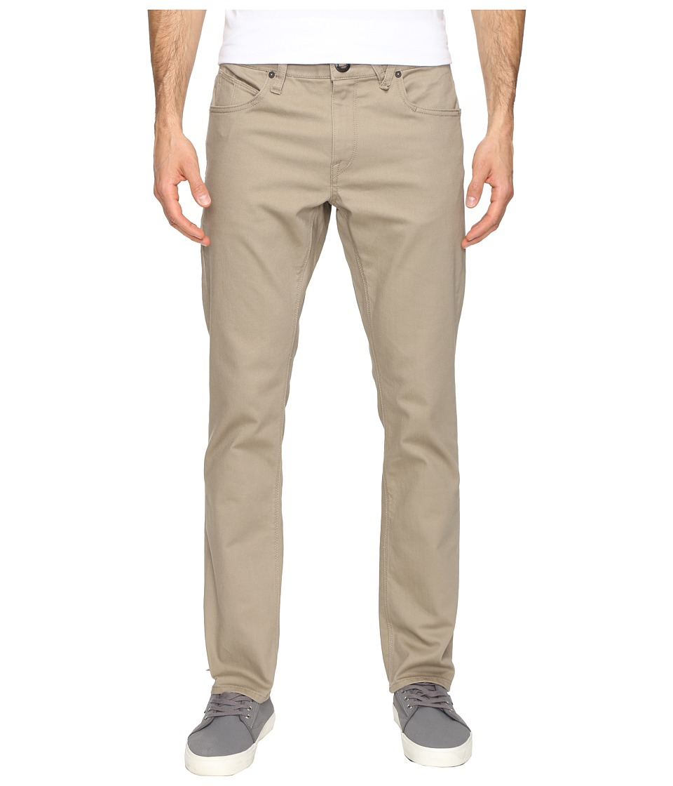 Volcom - Vorta Twill Pant (Beige) Men's Casual Pants