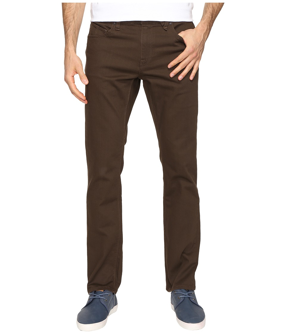 Volcom - Vorta Twill Pant (Dark Chocolate) Men's Casual Pants