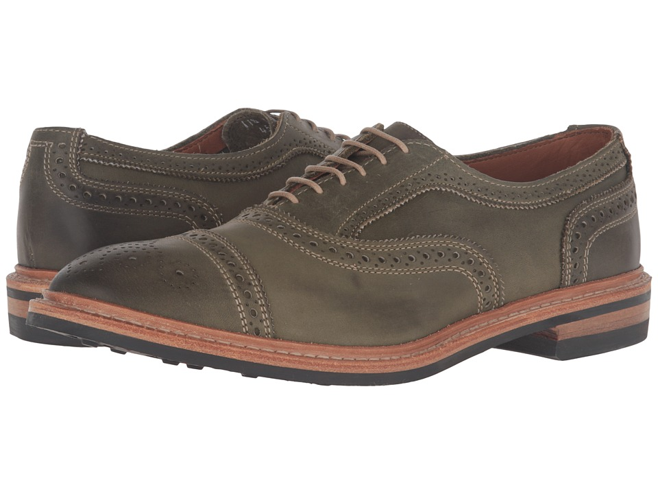 Allen-Edmonds Strandmok (Olive Leather) Men