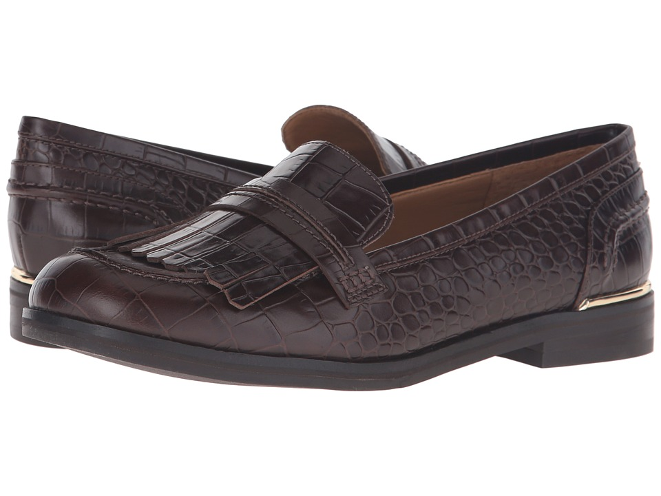 Marc Fisher LTD - Roryer (Chestnut) Women's Slip-on Dress Shoes