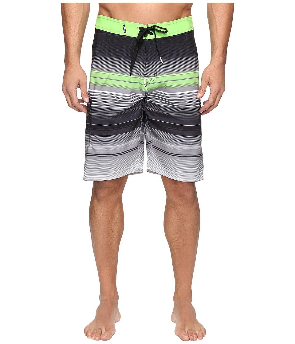 Rip Curl - Mirage Takeover Boardshorts (Black) Men's Swimwear