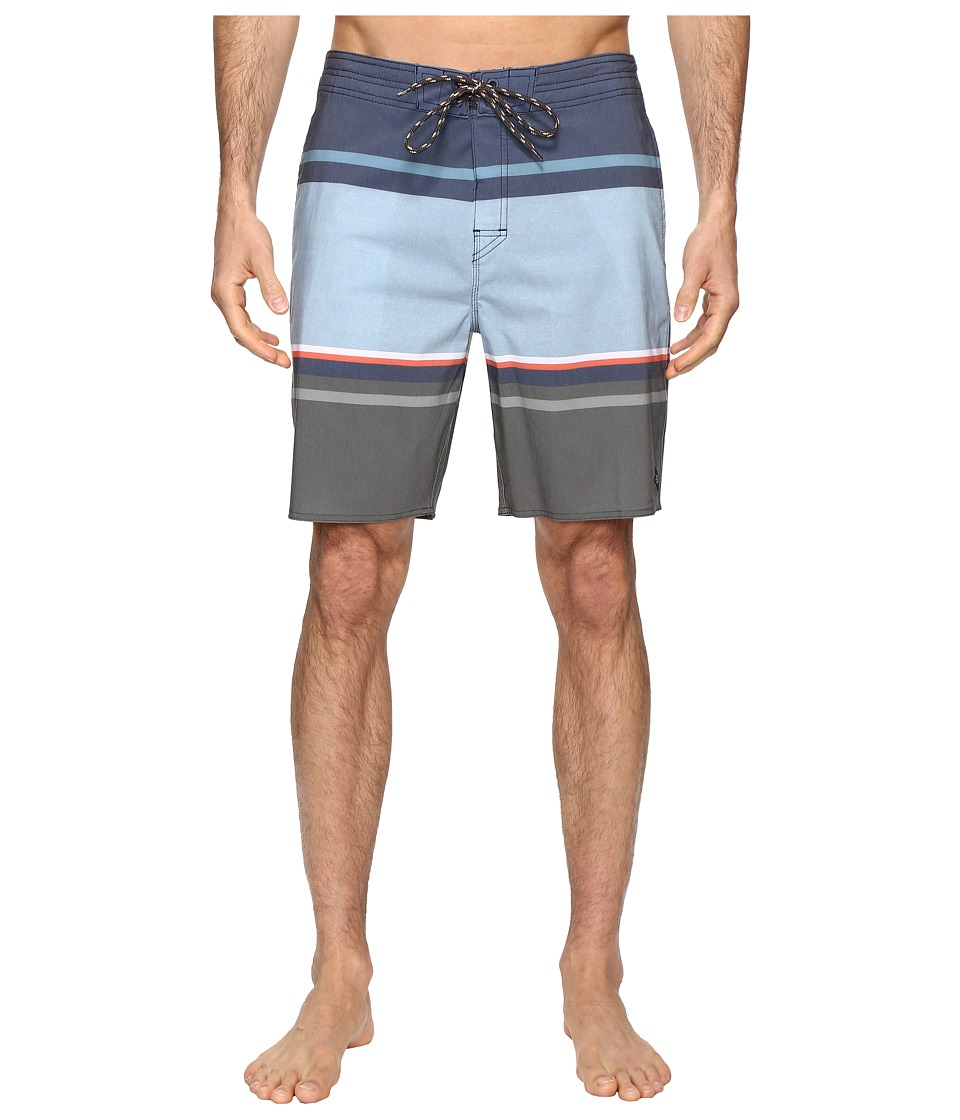 Rip Curl - Rapture Stripe Lay Day Boardshorts (Blue) Men's Swimwear