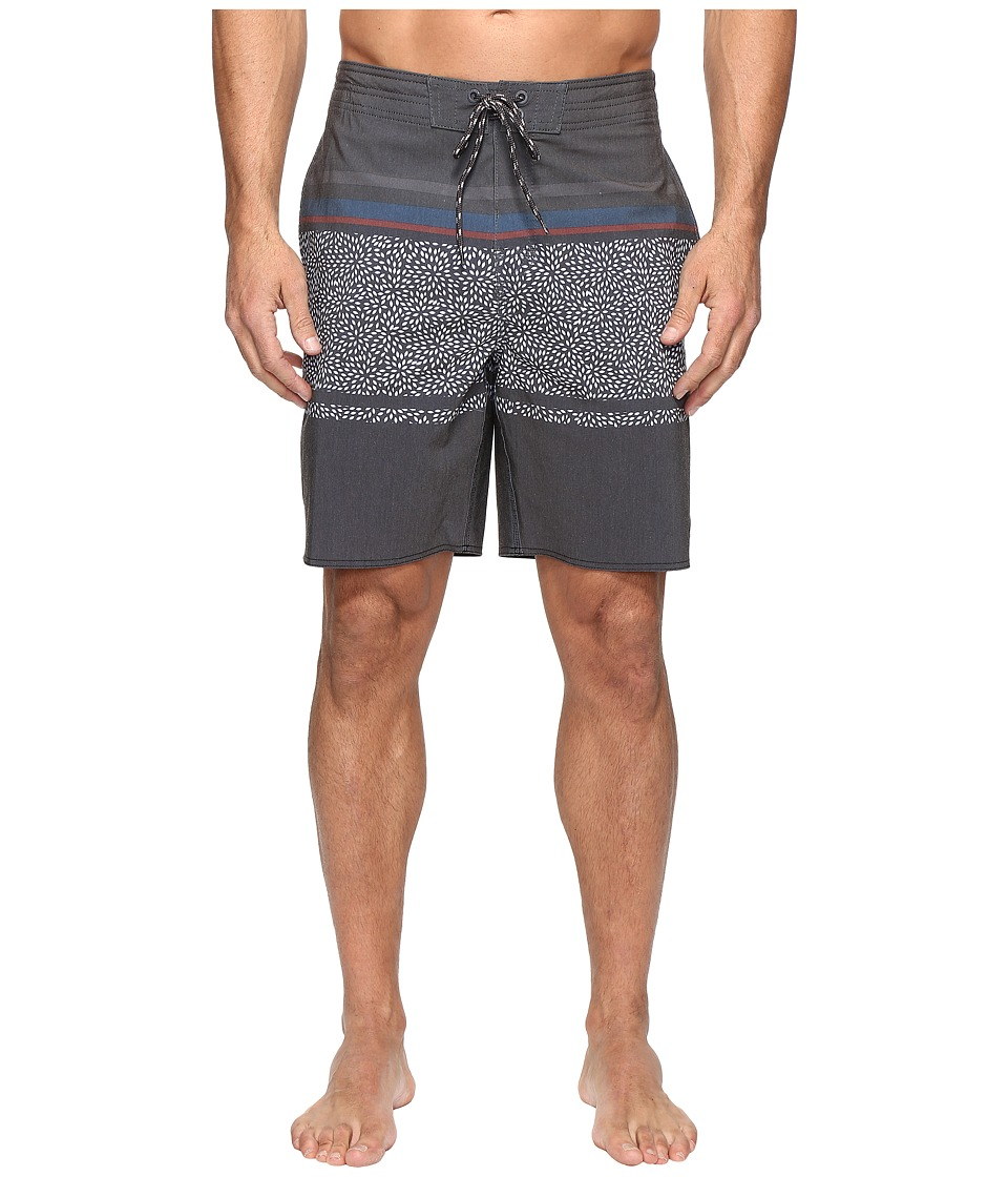 Rip Curl - Trimmer Lay Day Boardshorts (Black) Men's Swimwear