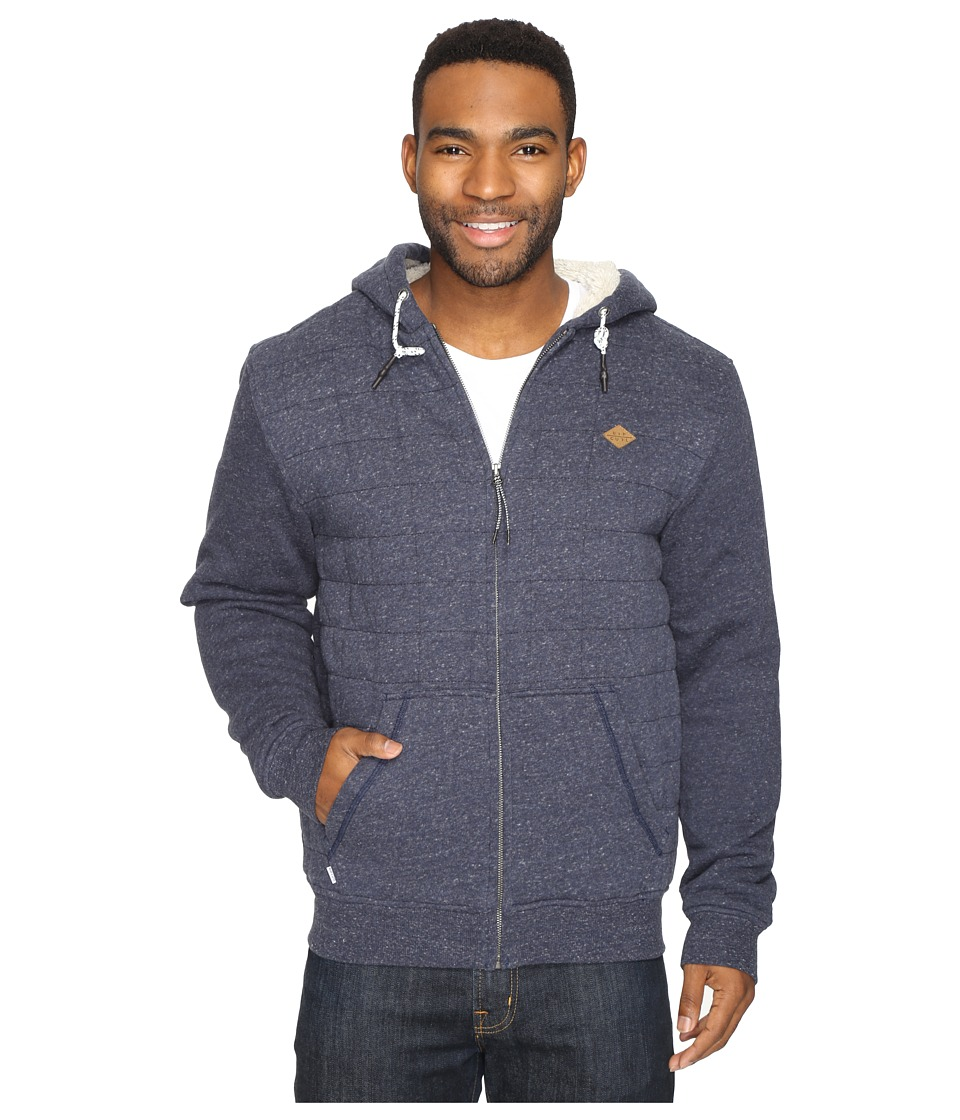 Rip Curl - Surf Check Sherpa Fleece (Navy) Men's Fleece