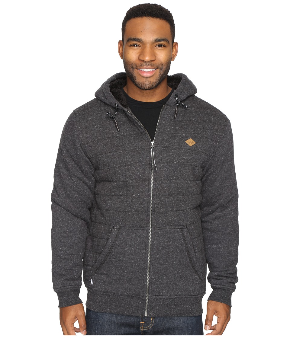 Rip Curl - Surf Check Sherpa Fleece (Black) Men's Fleece
