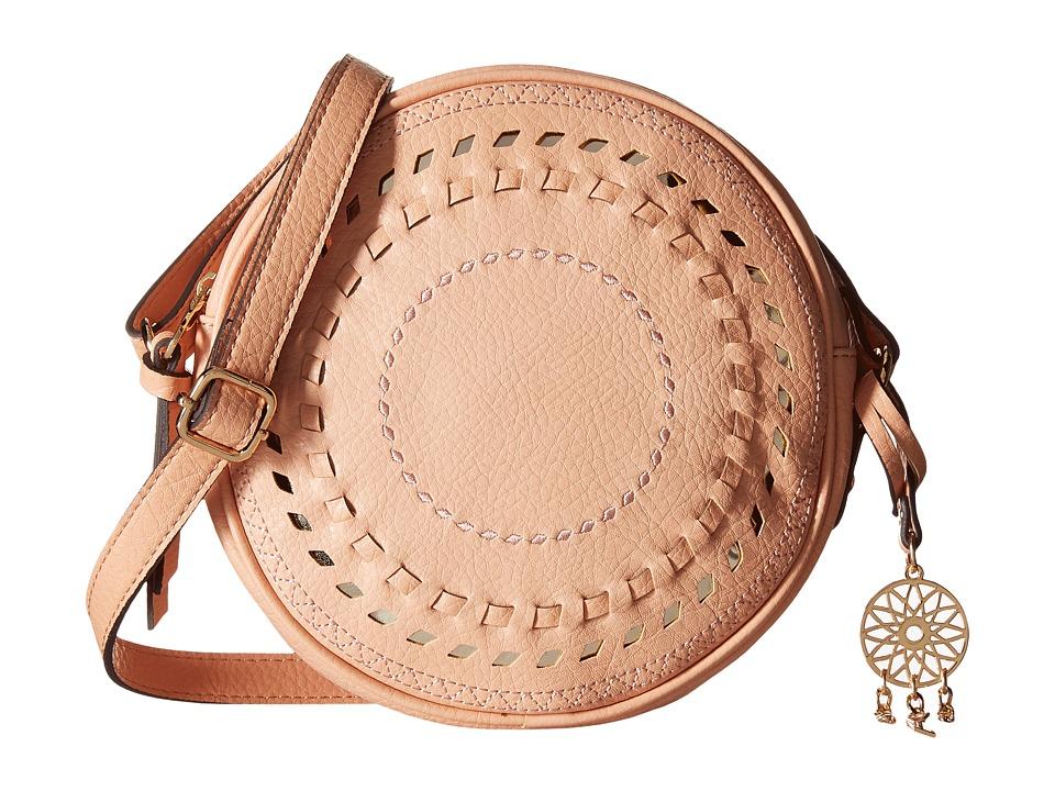 Jessica Simpson - Gwen Crossbody (Peach) Cross Body Handbags