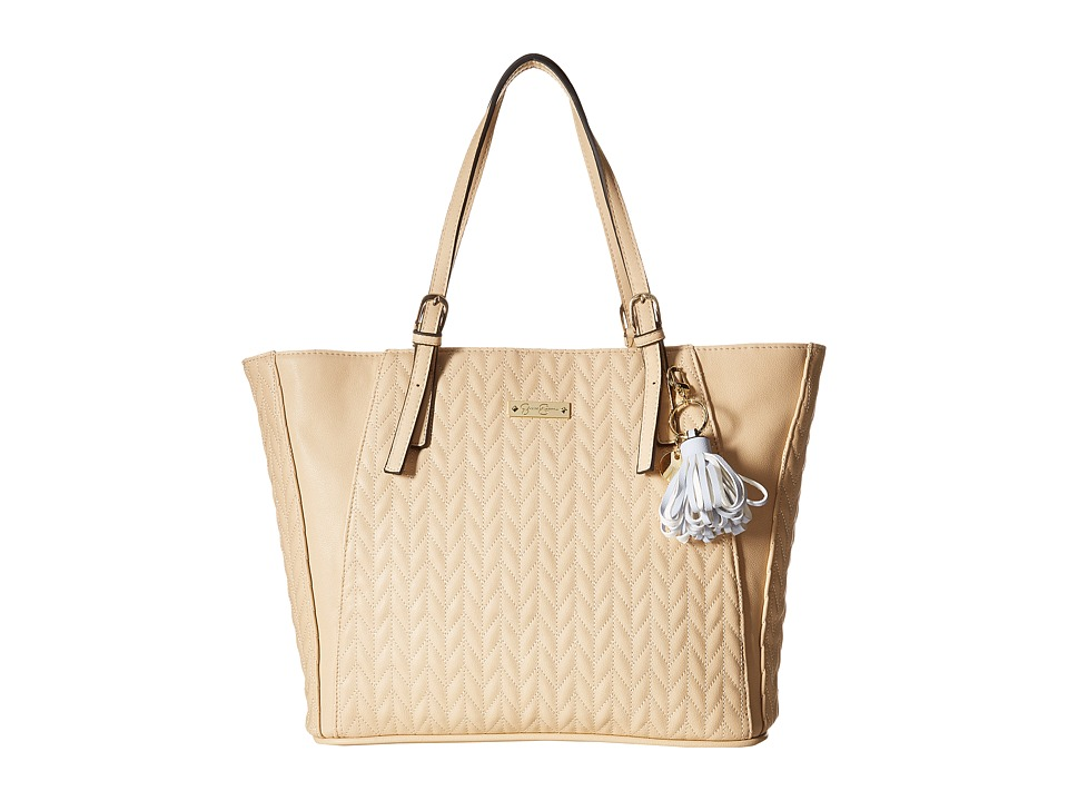 Jessica Simpson - Cynthia Tote (Beige) Tote Handbags