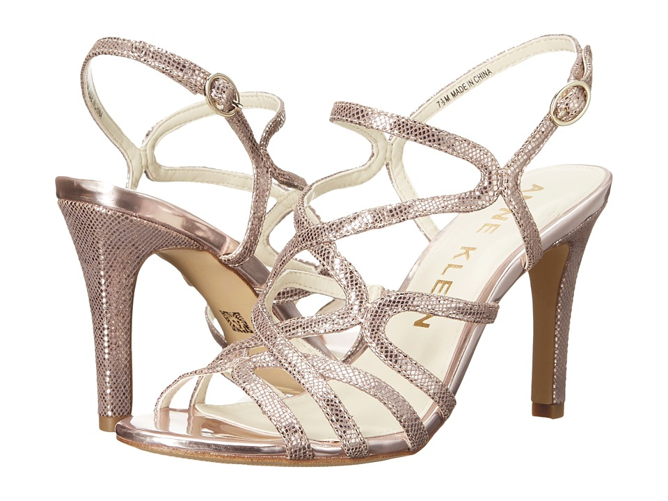 Anne Klein Insists (Light Pink/Silver Leather) High Heels