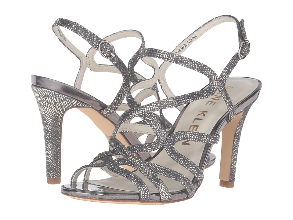 Anne Klein Insists (Dark Grey/Silver Leather) High Heels