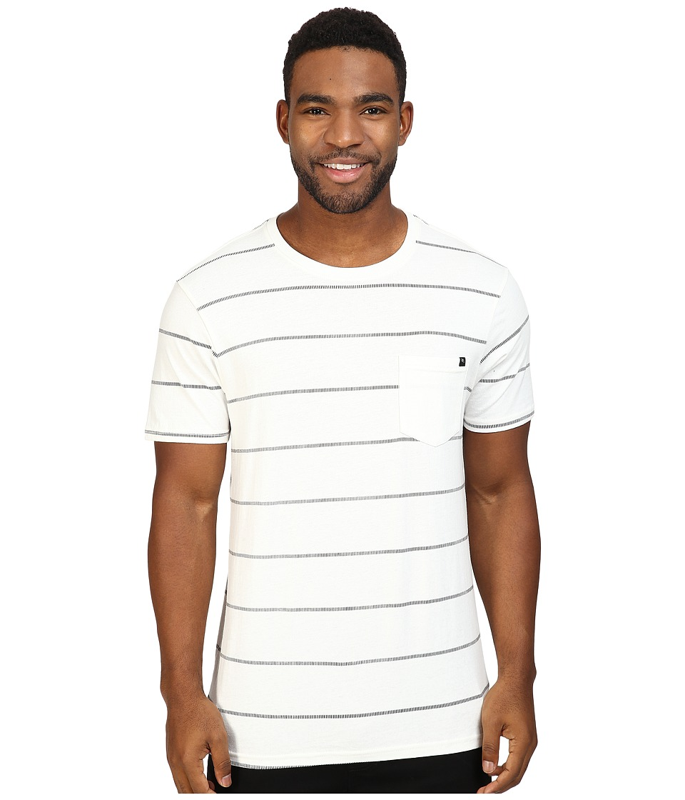 Rip Curl - Newps Custom Tee (Off-White) Men's T Shirt