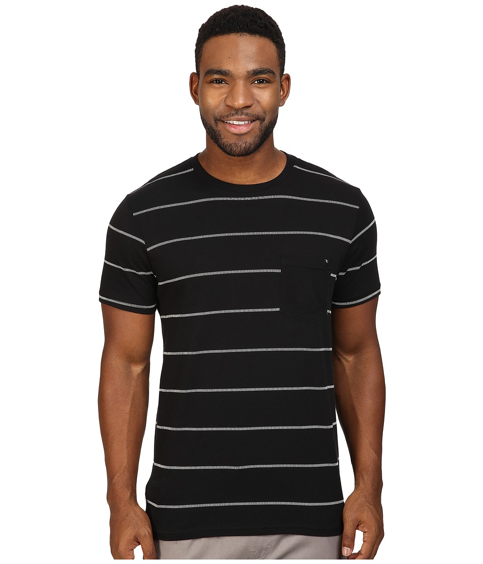 Rip Curl - Newps Custom Tee (Black) Men's T Shirt