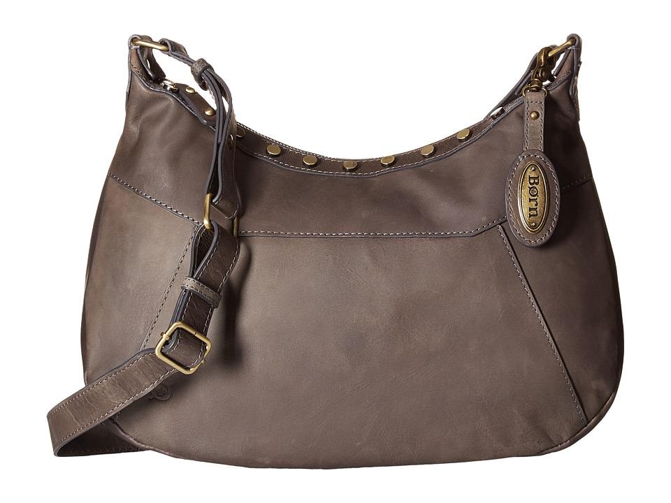 Born - Daria Crossbody (Charcoal) Cross Body Handbags