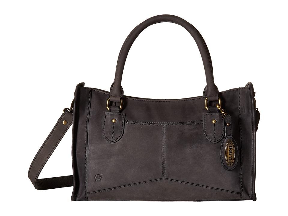 Born - Eva Satchel (Black) Satchel Handbags
