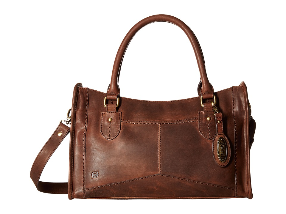 Born - Eva Satchel (Chocolate) Satchel Handbags
