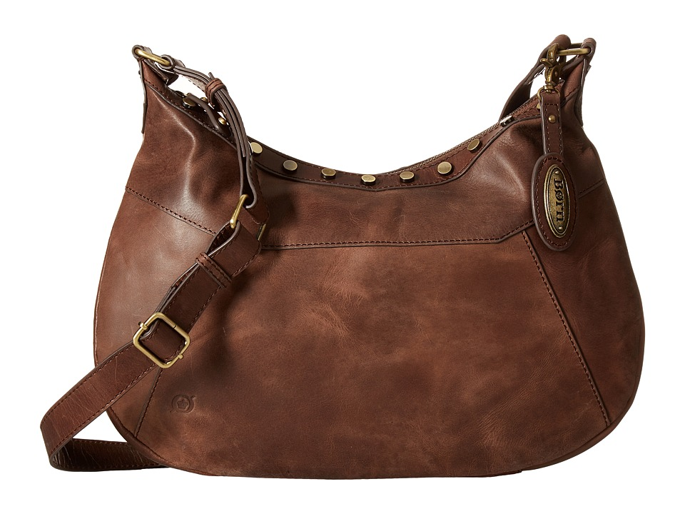 Born - Daria Crossbody (Chocolate) Cross Body Handbags