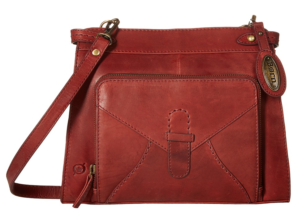 Born - Kallista Crossbody w/ Organizer (Dark Cherry) Cross Body Handbags