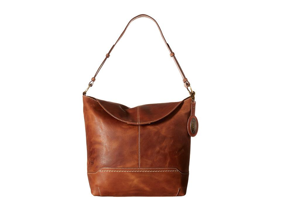 Born - Echo Flap Hobo (Saddle) Hobo Handbags
