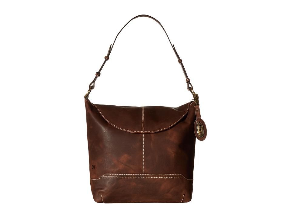Born - Echo Flap Hobo (Chocolate) Hobo Handbags