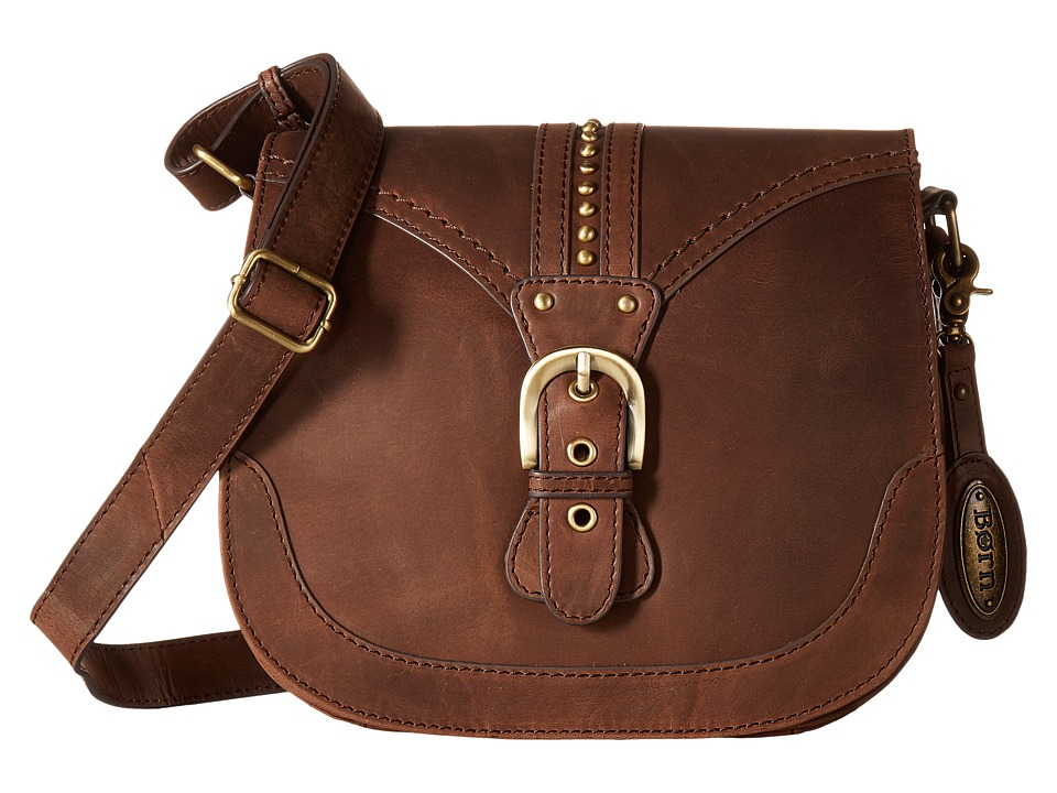 Born - Canolo Saddle Bag (Chocolate) Handbags