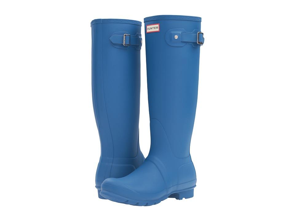 Hunter - Original Tall (Azure) Women's Rain Boots