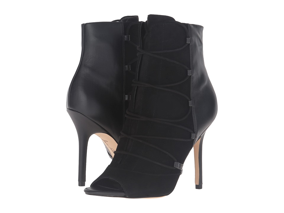 Sam Edelman - Asher (Black Kid Suede Leather/Nappa) Women's Shoes