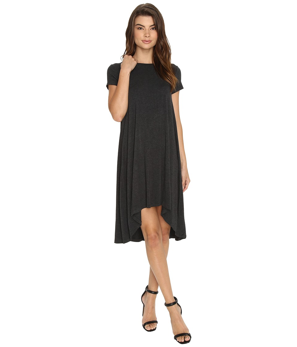 Susana Monaco Kayla Dress (Charcoal Melange) Women