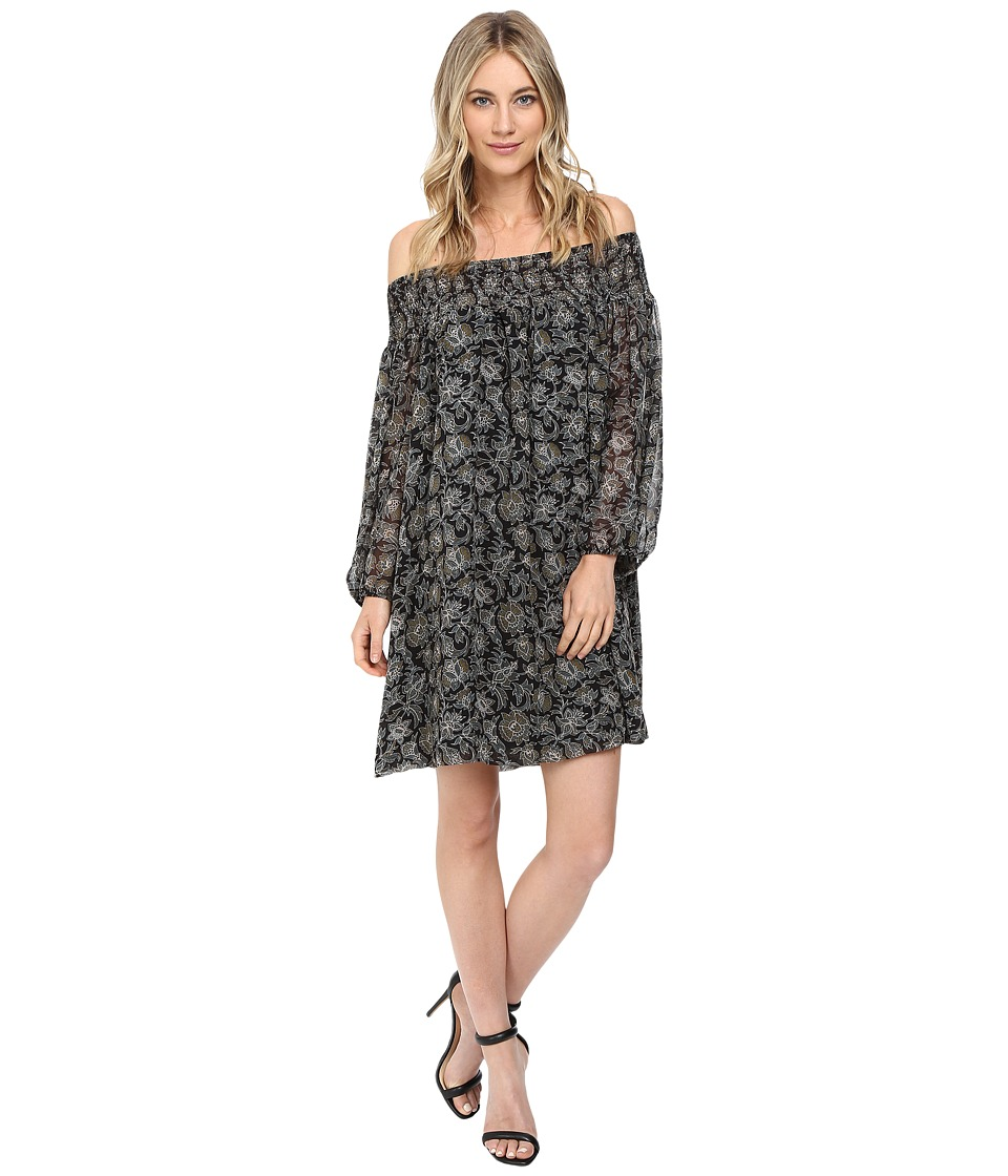 Susana Monaco Mavella Dress (Onyx) Women