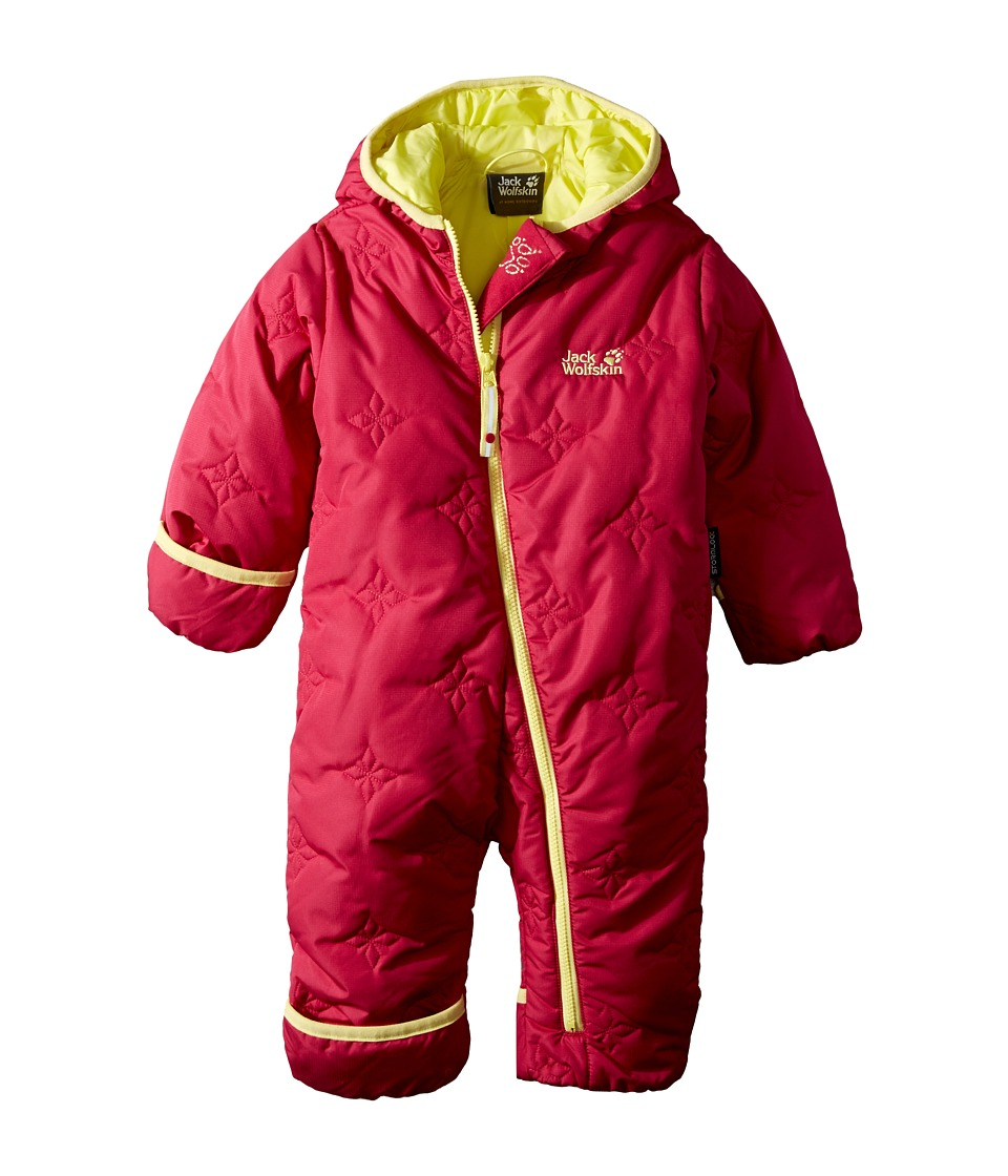Jack Wolfskin Kids - Ice Crystal Overall (Infant) (Azalea Red) Kid's Overalls One Piece