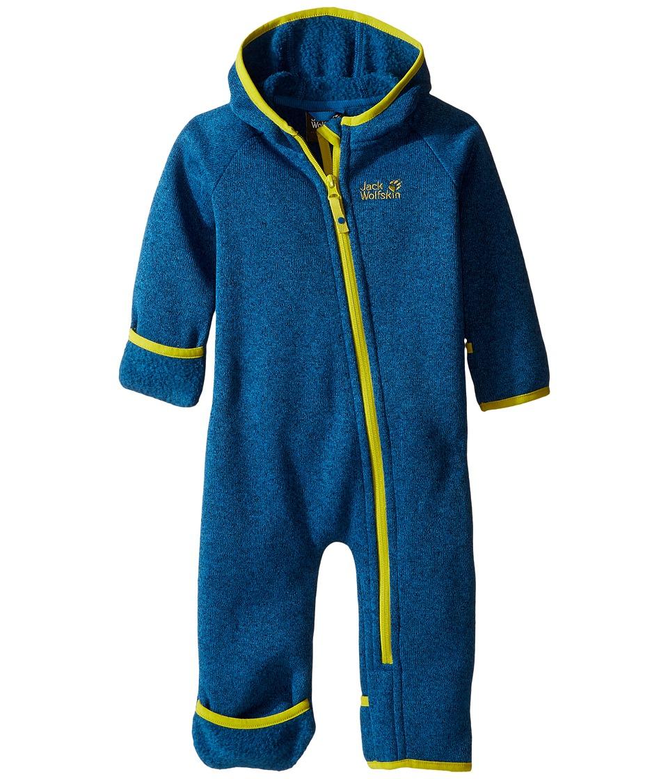 Jack Wolfskin Kids - Moonchild Overall (Infant) (Glacier Blue) Kid's Overalls One Piece