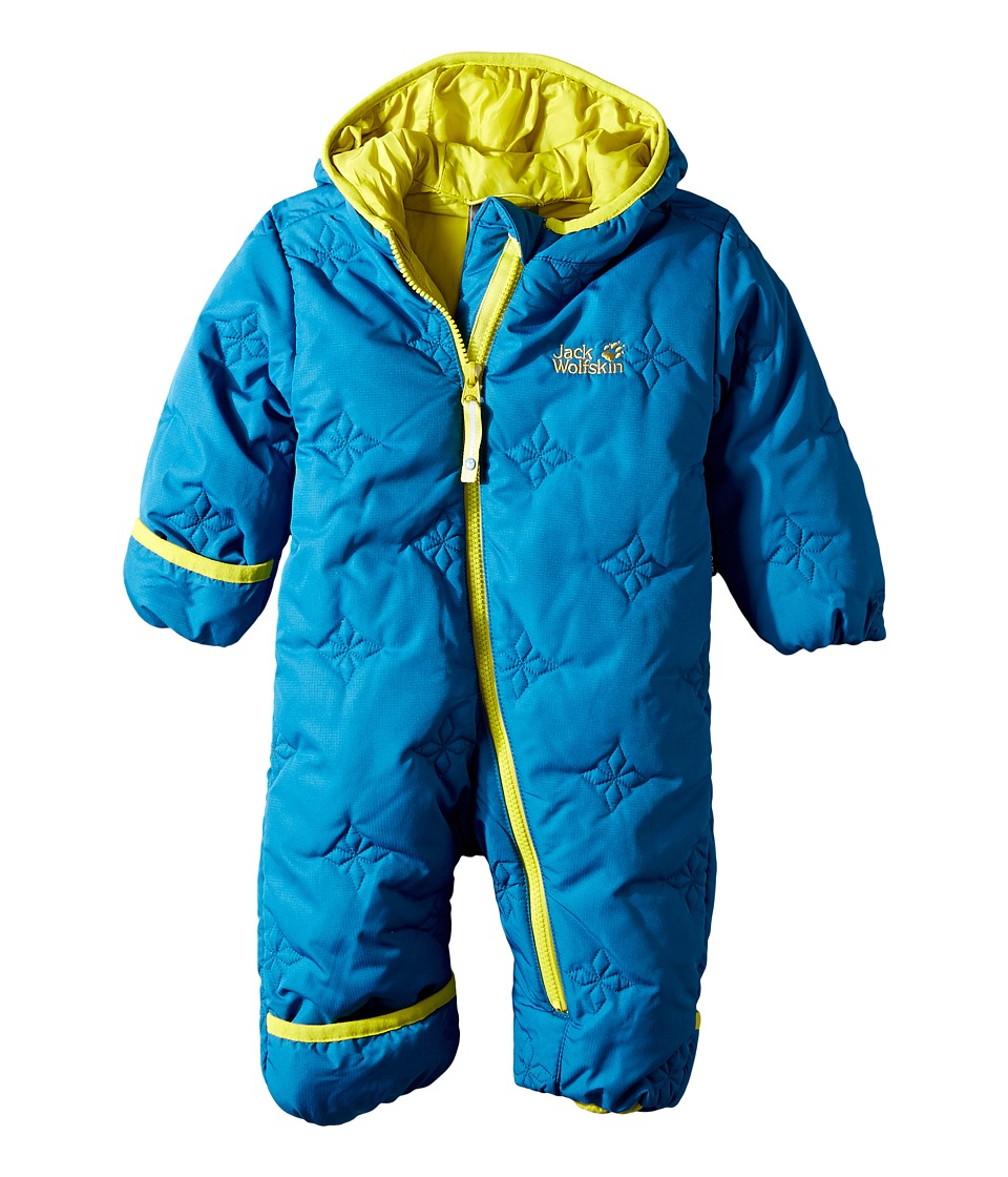 Jack Wolfskin Kids - Ice Crystal Overall (Infant) (Glacier Blue) Kid's Overalls One Piece