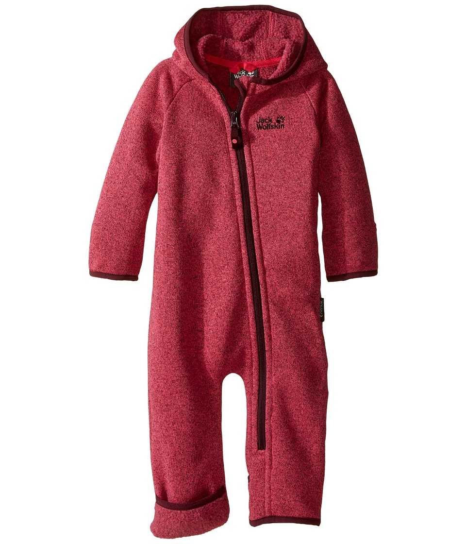 Jack Wolfskin Kids - Moonchild Overall (Infant) (Pink Raspberry) Kid's Overalls One Piece