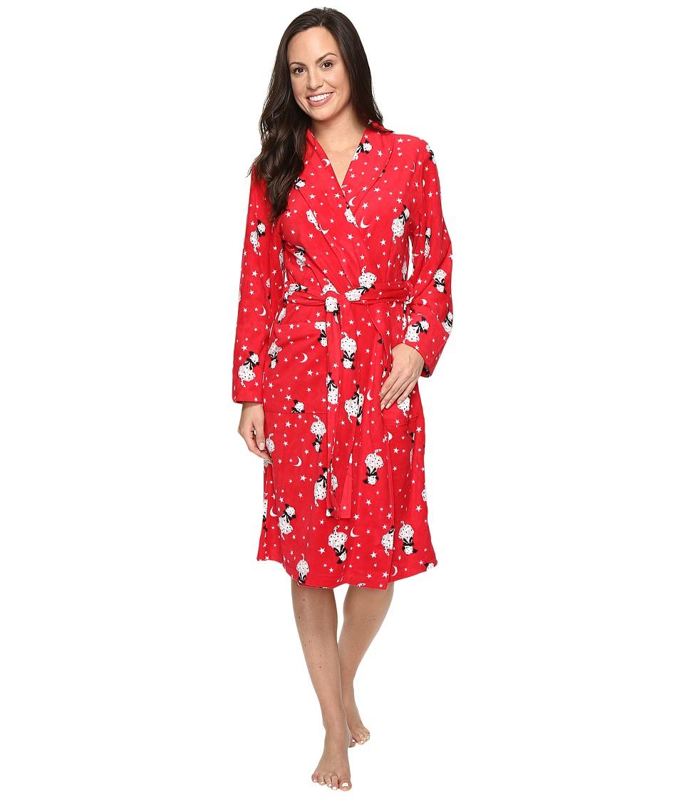 Jockey - Microfleece Robe (See Spot Run) Women's Robe