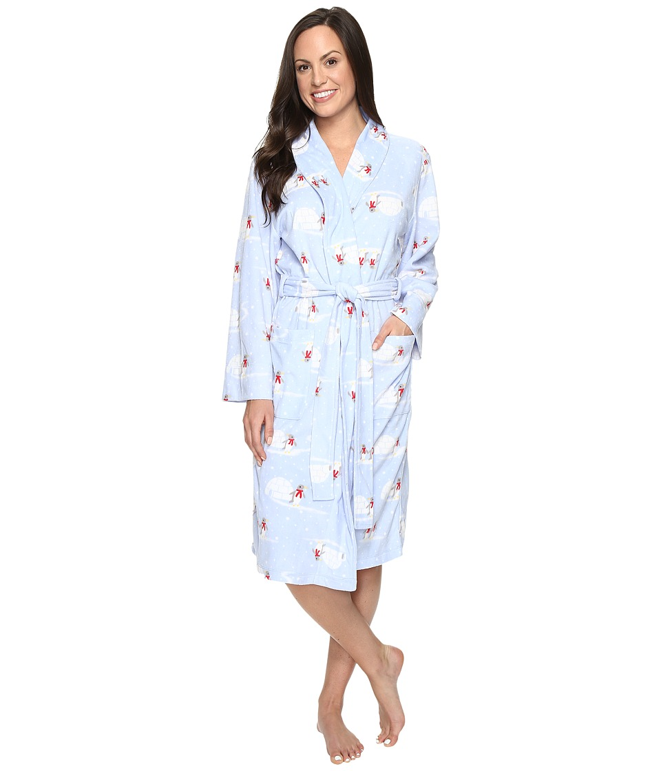 Jockey - Microfleece Robe (Penguins) Women's Robe