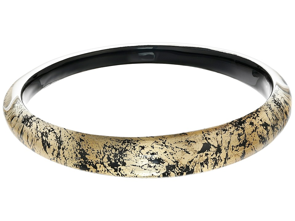 Alexis Bittar - Tapered Bangle Bracelet (Antique Gold) Bracelet