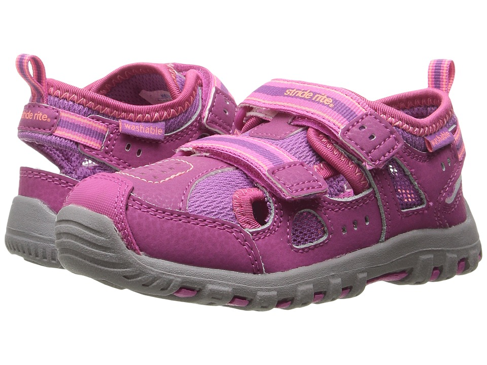 Stride Rite - Made 2 Play Christiana (Toddler) (Pink) Girl's Shoes