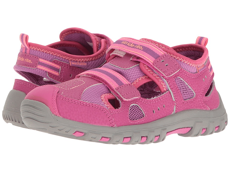 Stride Rite - Made 2 Play Christiana (Toddler/Little Kid) (Pink) Girl's Shoes