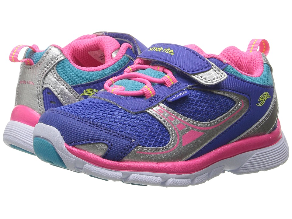 Stride Rite - Made 2 Play Mavis (Toddler) (Blue) Girl's Shoes