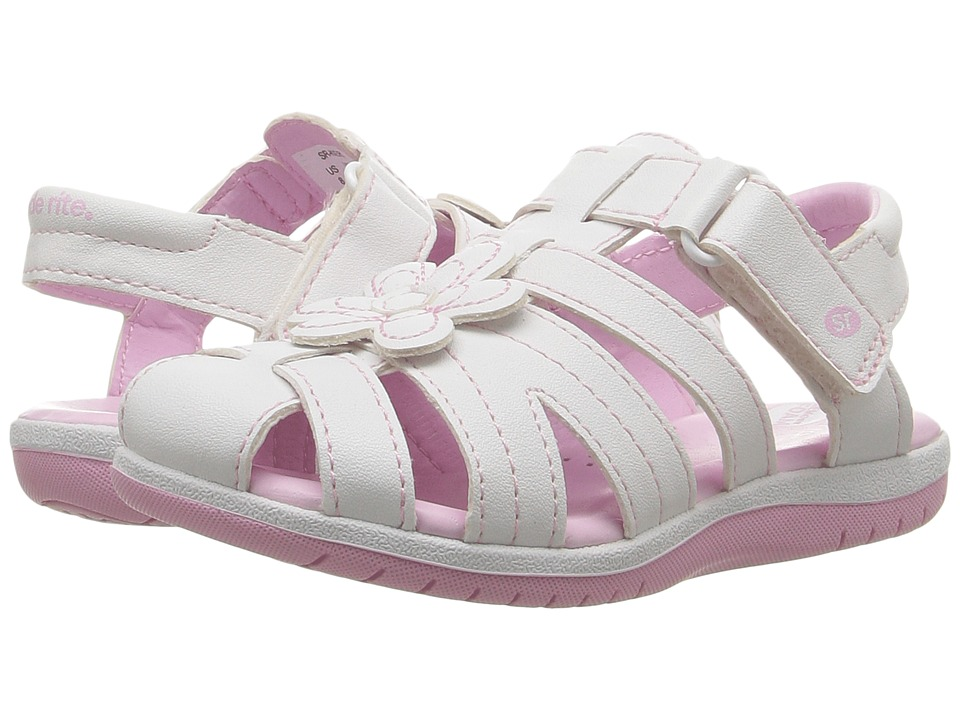 Stride Rite - Kiernan (Toddler/Little Kid) (White) Girl's Shoes