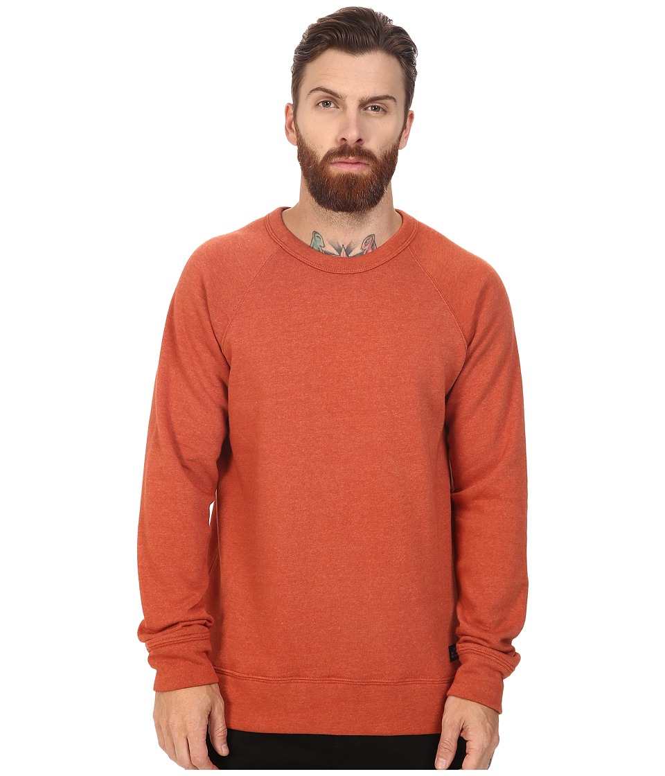 Obey - Lofty Creature Comfort Crew (Burnt Brick) Men's Sweatshirt