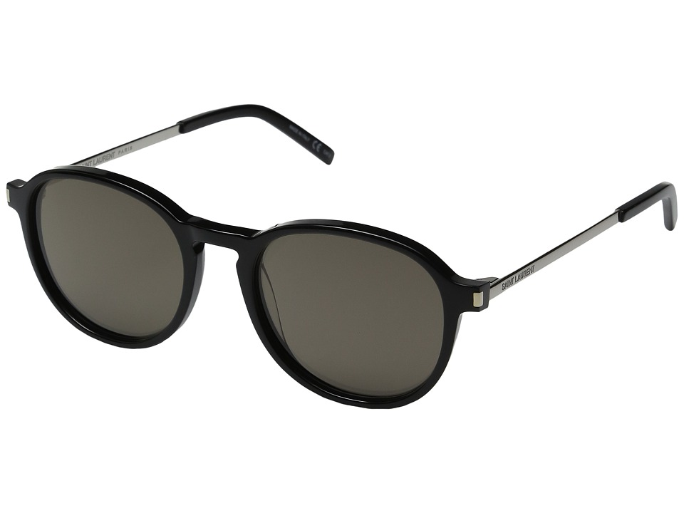Saint Laurent - SL 110 (Black/Smoke) Fashion Sunglasses