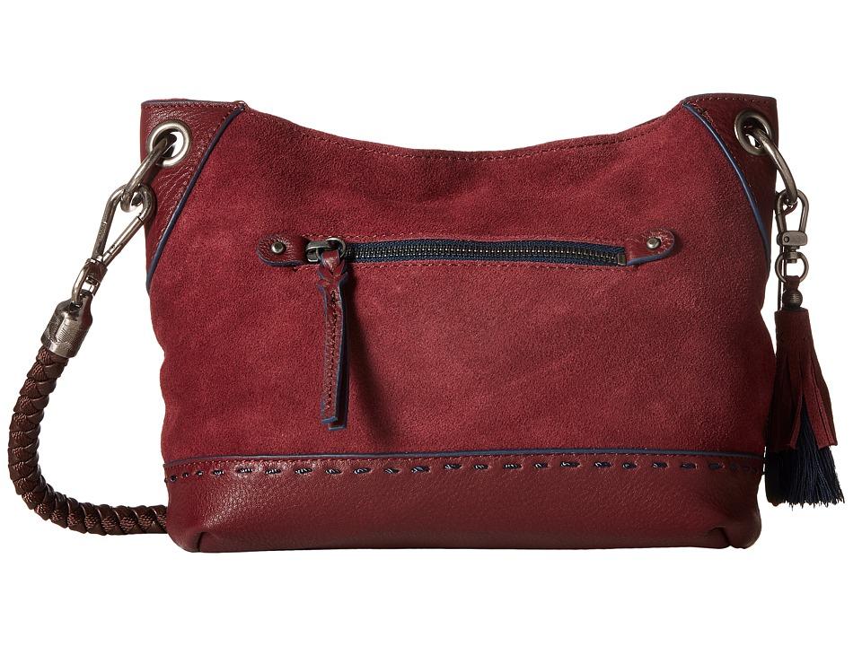 The Sak - Indio Leather Demi (Cabernet Block) Shoulder Handbags