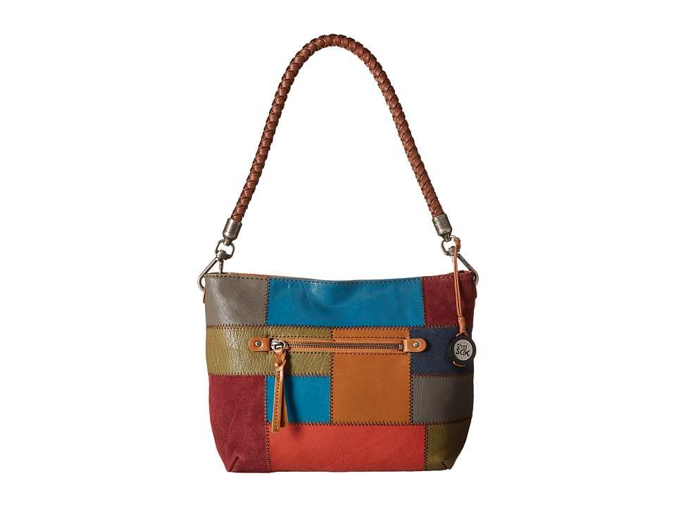 The Sak - Indio Leather Demi (Multi Patch) Shoulder Handbags
